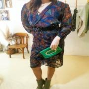 ROCK ❤️ Dans ma robe électrique ⚡. Mi flou, mi structurée et un brun déjantée. Vous aimez ? . . . #robe #nouveautés #dress #couture #rock #style #womenstyle #modefemme #creation #unique #creative #uniquepieces #modeéthique #ethicalfashion #toulon #france #madeinfrance